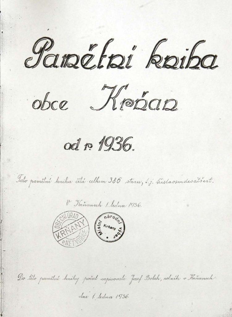 Kronika Krňany
